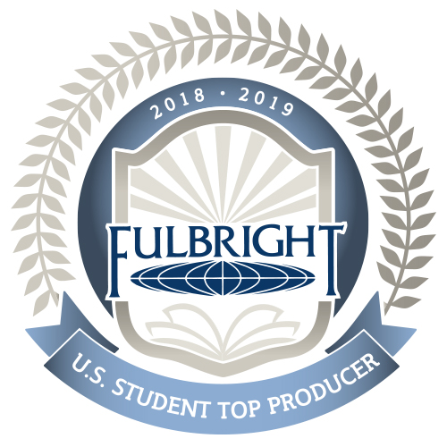 fulbright top producer logo 2018-2019