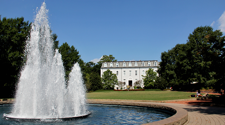 moore college and fountain