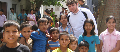 ramsey traveling in india