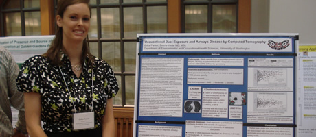 ramsey scholar presenting public health research