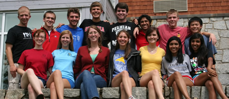 first-year foundation fellows on retreat 2010