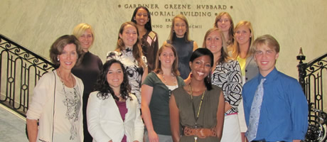 honors interns gathered at national geographic in dc