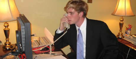 washington intern working in senator's office