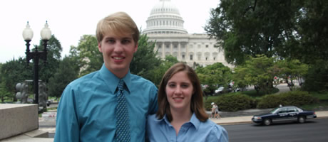 ramsey scholar interning in washington