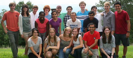 third-year foundation fellows on retreat 2010